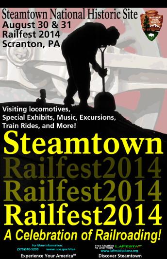 Steamtown's Railfest 2014