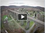 Click to see see Flyover of Starrucca Viaduct.